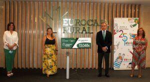 El Grupo Económico Eurocaja Rural entrega a AFANION CLM más de 13.000 euros para paliar los efectos de la pandemia