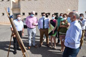 El Gobierno de Castilla-La Mancha comienza las obras de remodelación de la CM-3202, entre Albaladejo y Villanueva de la Fuente