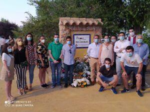 El PP de Ciudad Real en el homenaje a Miguel Ángel en Manzanares
