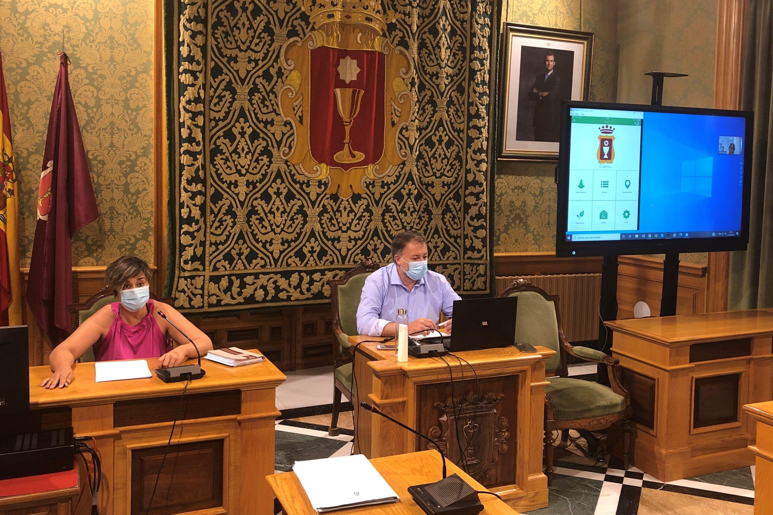 El Ayuntamiento de Cuenca pone en marcha el servicio de comunicación de incidencias Línea Verde a través de una app móvil