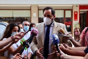 Núñez incide en la necesidad de que los colectivos de la región participen en la Comisión de Estudio sobre el coronavirus para aportar soluciones con las que recobrar la normalidad