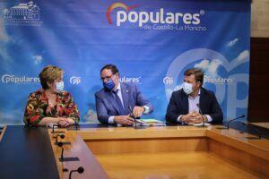 """El PP CLM exige a Page que """"optimice"""" los recursos de las Diputaciones y que no las """"utilice"""" como """"caja de tesorería"""" para suplir las carencias de la Junta de Comunidades"""