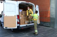 El Gobierno de Castilla-La Mancha mantiene la distribución de equipos de protección para los profesionales sanitarios con un nuevo envío de superior a los 408.000 artículos