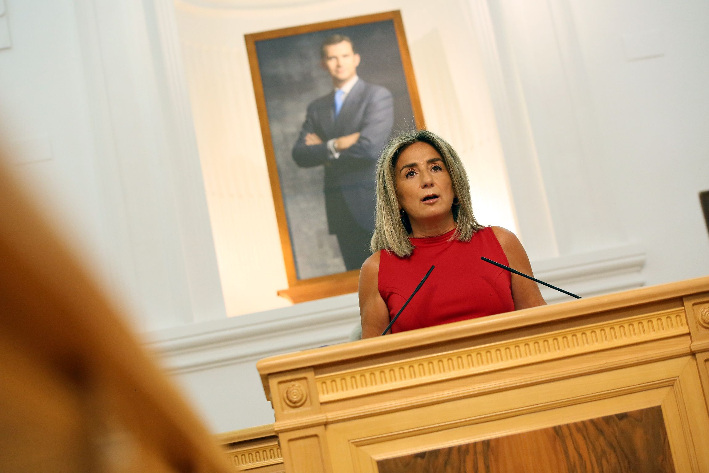 La alcaldesa anuncia una nueva ampliación de suelo industrial de 1,5 millones de metros cuadrados para la instalación de empresas