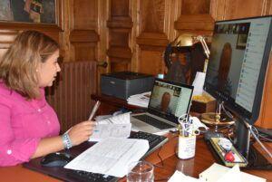 """La alcaldesa de Talavera apela al cumplimiento de las normas sanitarias como """"única forma de regresar a la senda descendente en las cifras de contagios"""""""