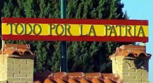 La Asociación de la Memoria Histórica pide a Sánchez que retire de los cuarteles el lema 'Todo por la patria'