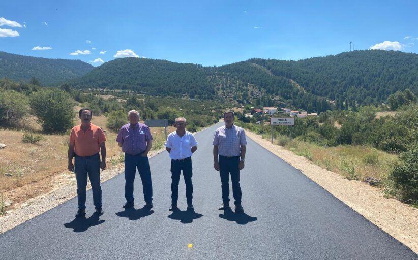 La Diputación de Cuenca actúa en la carretera que une Vega del Codorno y la CM-2106 con una intervención de 124.000 euros