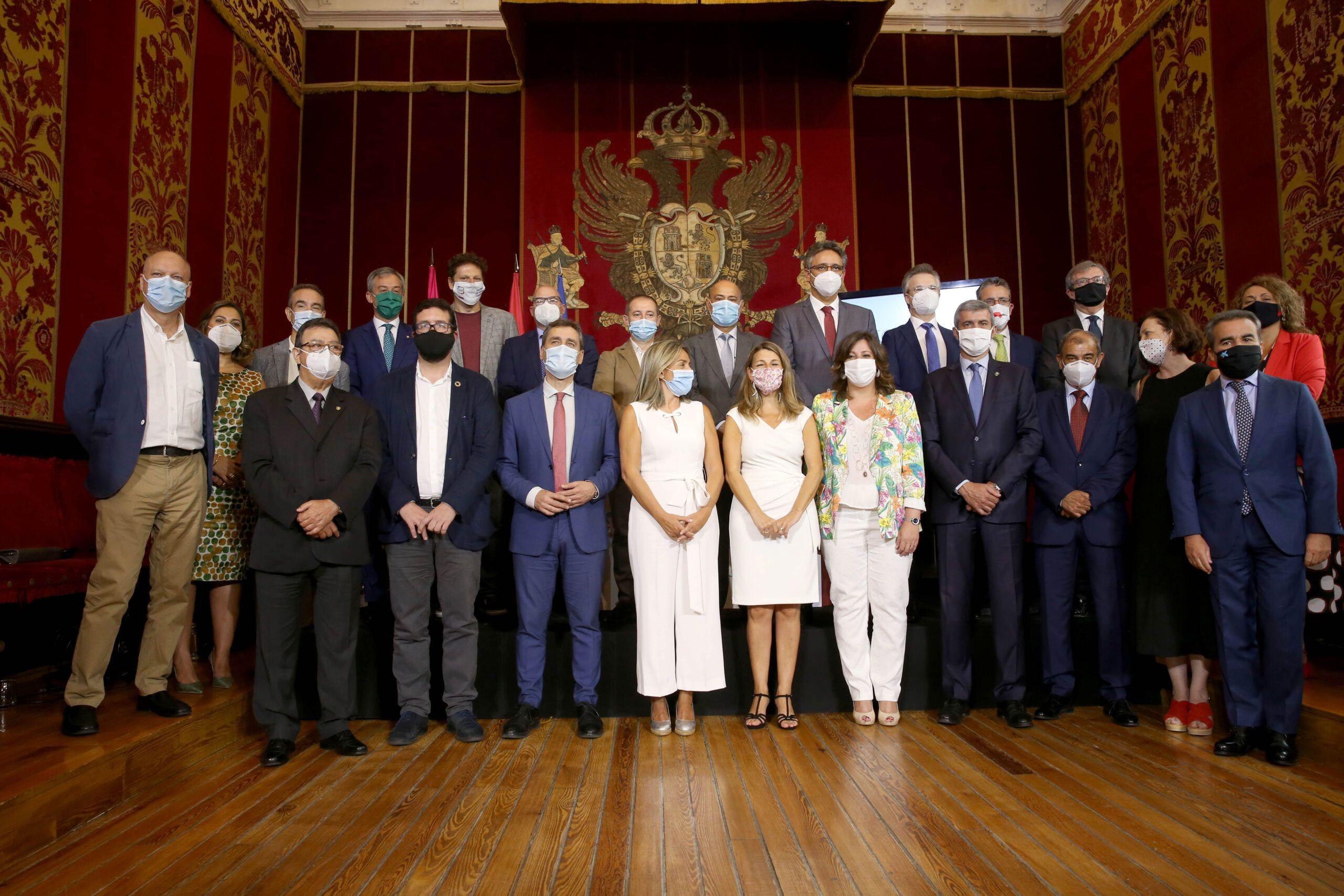 Yolanda Díaz vincula Toledo con los valores de solidaridad, recuperación e innovación que representa la Economía Social en España