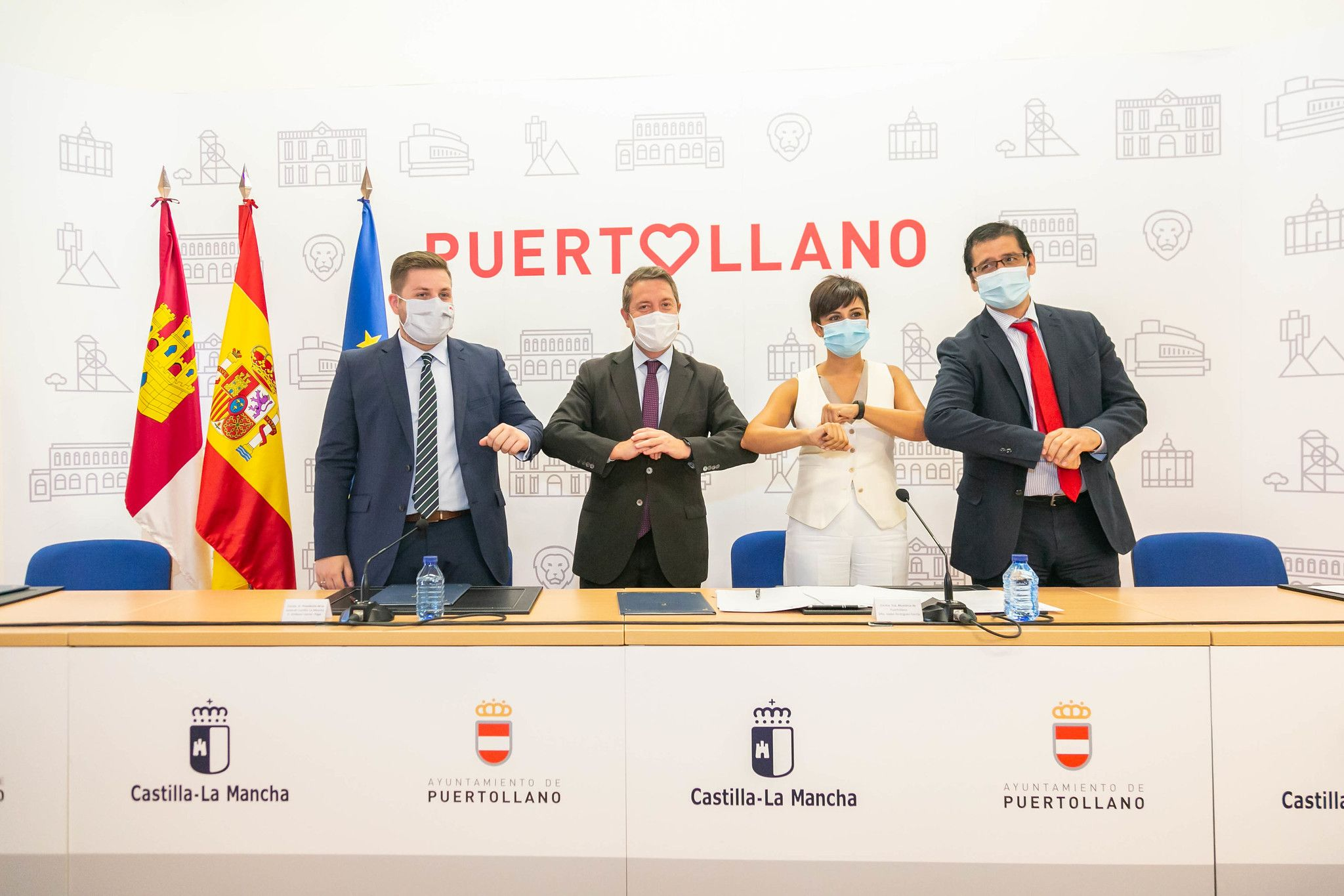 El Gobierno regional firma con el Ayuntamiento de Puertollano un protocolo para poder crear un millón de metros de suelo industrial en la ciudad