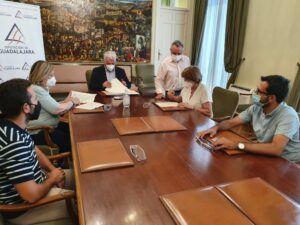 La Diputación ayuda a los municipios ribereños de Entrepeñas y Buendía a defender sus intereses hídricos