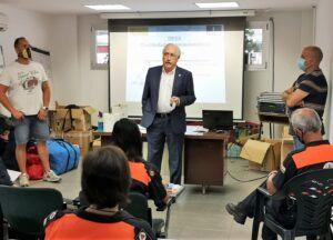El Gobierno de Castilla-La Mancha celebra en Ciudad Real un curso sobre el uso del desfibrilador para voluntarios de Protección Civil