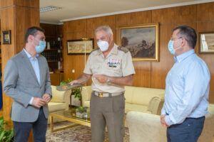 Tierraseca agradece al general de Brigada Rajo Moreno su labor al frente del Museo del Ejército