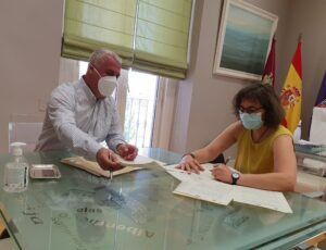 La Diputación ayuda a FAMIGUADA a defender los derechos de las familias numerosas de la provincia