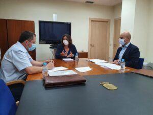 La consejera de Economía, Empresas y Empleo, Patricia Franco, recibe al próximo experto nacional adscrito a la Unidad de Evaluación de Opciones Científicas y Técnicas del Parlamento europeo, Andrés García