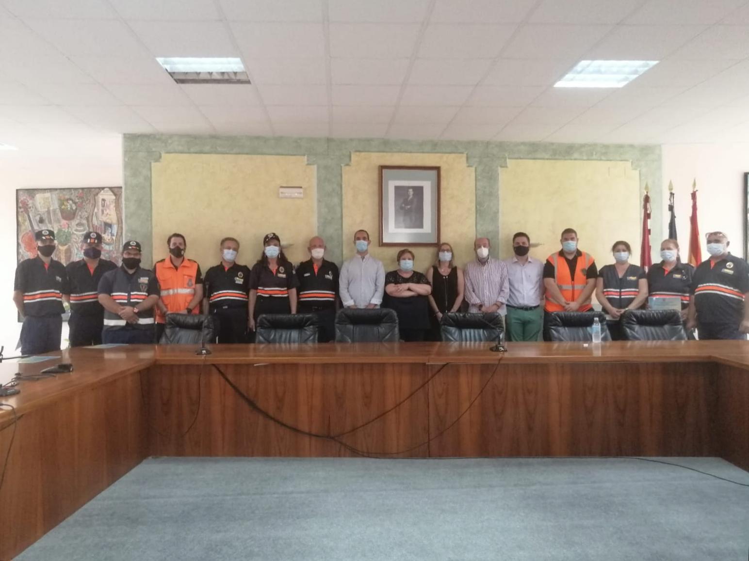 El Ayuntamiento de Santa Cruz de Mudela homenajea a Protección Civil por sus 30 años de servicio a la ciudadanía
