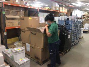 El Gobierno de Castilla-La Mancha distribuye cerca de 1.200.000 artículos de protección y más de 13.000 test rápidos en los centros de la provincia de Toledo