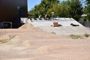 Continúan a buen ritmo las obras del circuito de BMX junto al JAJE que estarán finalizadas en las próximas semanas