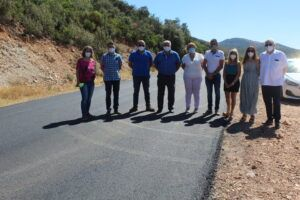 El Gobierno de Castilla-La Mancha mejora la conexión por carretera en el entorno rural entre Puebla de Don Rodrigo y Arroba de los Montes