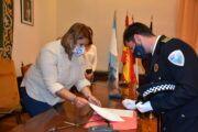 La alcaldesa asiste a la toma de posesión de cuatro nuevos agentes de la Policía Local de Talavera y se anuncian próximos procesos selectivos