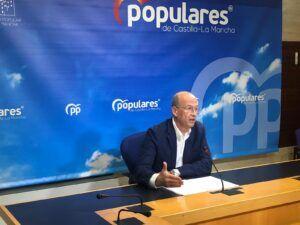 El PP-CLM reprocha a Page que se esconda tras la aplicación de medidas restrictivas por culpa de su nefasta gestión de la crisis sanitaria
