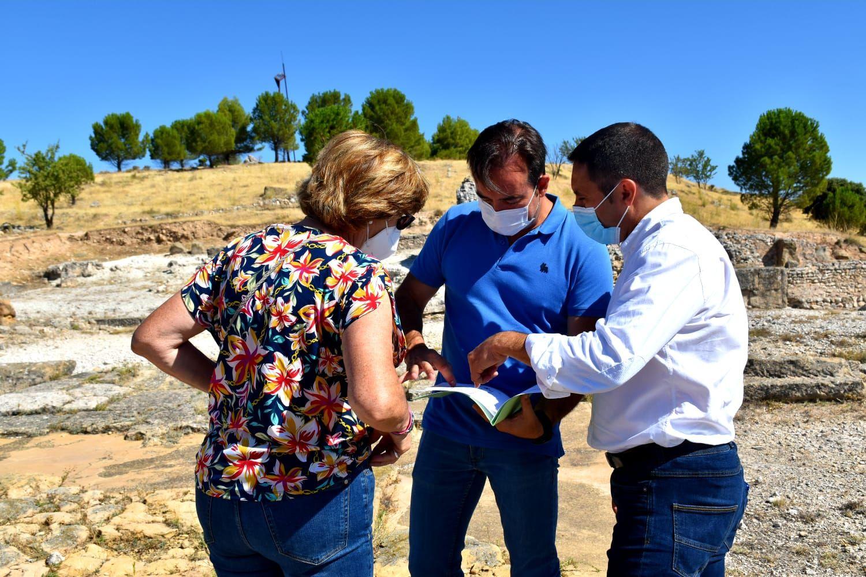 La Diputación de Cuenca invertirá 200.000 euros en la rehabilitación y musealización del yacimiento de Ercávica