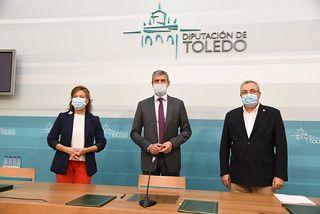 El Gobierno regional y la Diputación de Toledo renuevan el convenio de ayudas de urgencia en situaciones de necesidad o vulnerabilidad infantil