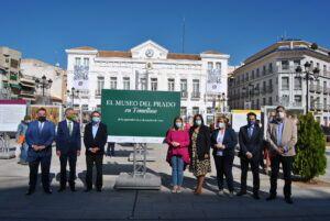 El Gobierno regional espera que la exposición 'El Prado en las calles' tenga el mismo éxito en Tomelloso que el obtenido en Puertollano y Sigüenza