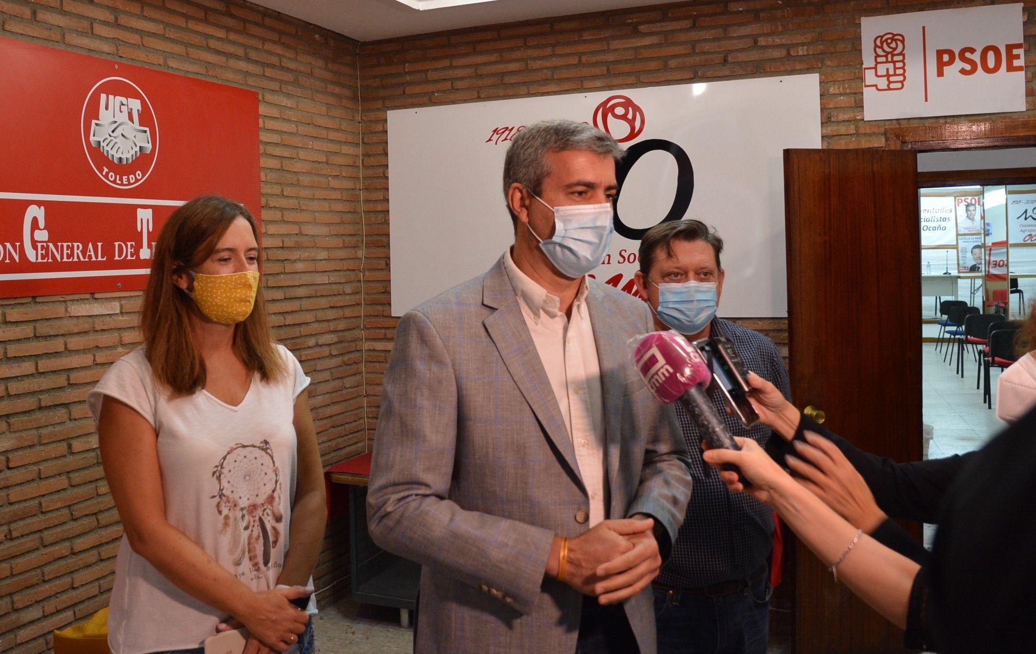 Álvaro Gutiérrez pide a Nuñez que haga caso a sus compañeros de Madrid y deje de politizar con el virus