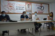 Álvaro Gutiérrez, alcaldes alcaldes y portavoces socialistas exigen un cambio normativo para acabar con las ocupaciones ilegales