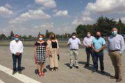 El PP de la Diputación se interesa por la situación sanitaria y de los colegios de la provincia