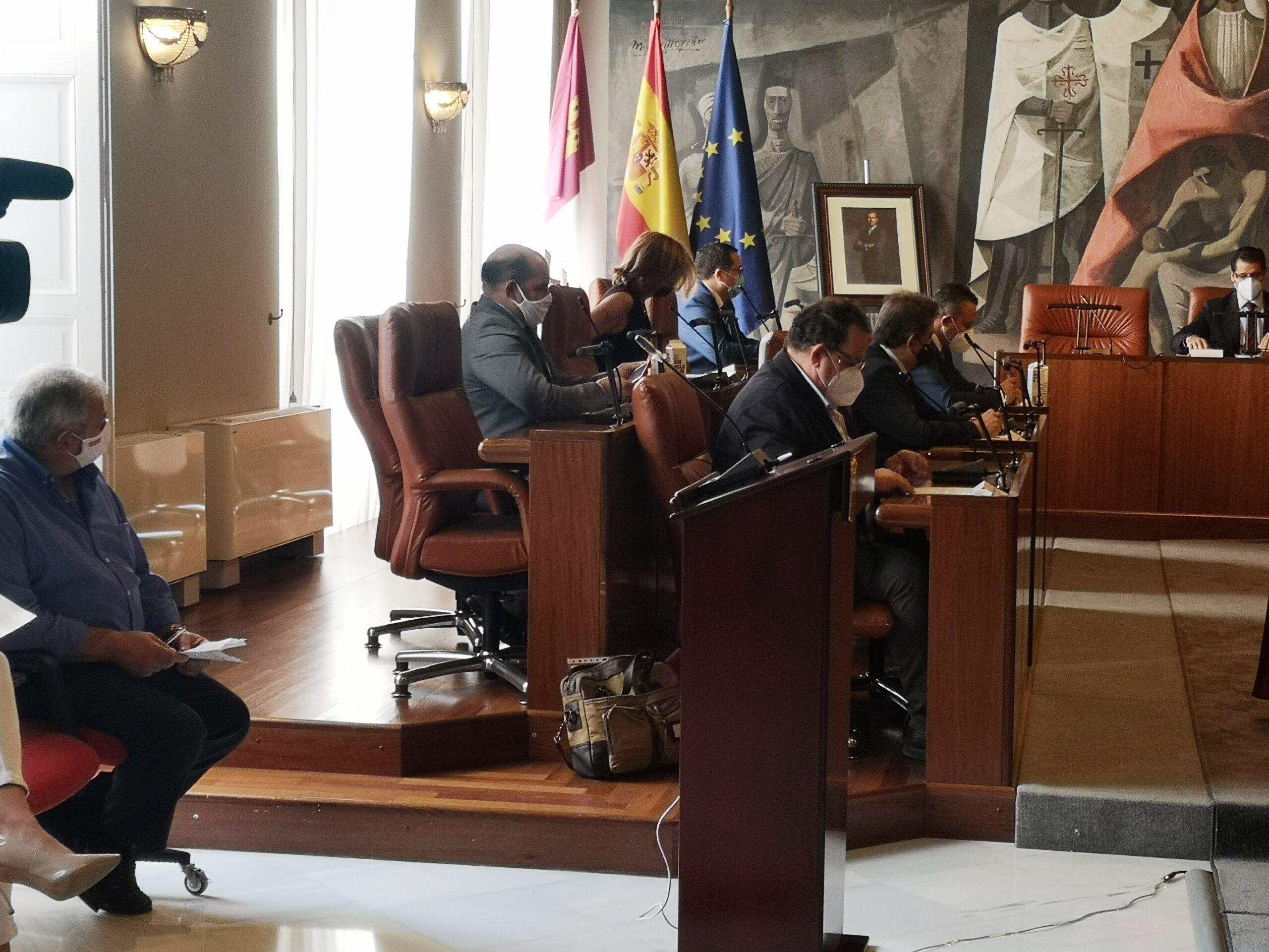 El Grupo Popular pone de manifiesto y demuestra las deficiencias que el Tribunal de Cuentas señala respecto a las cuentas de la Diputación Provincial