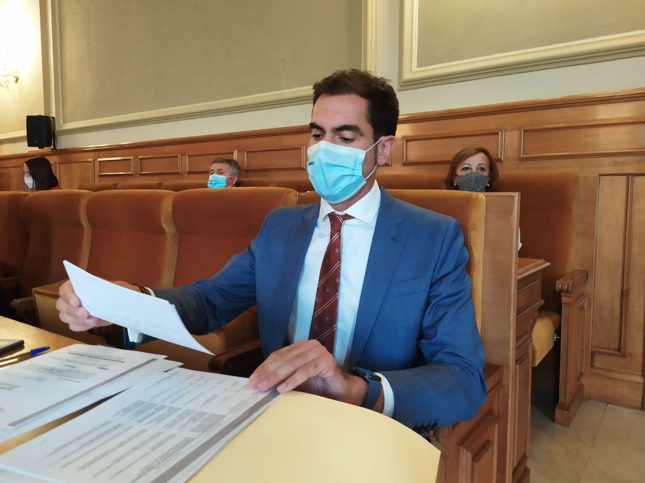 Cs Toledo reclama a la Diputación que cumpla la Ordenanza de Transparencia que prevé la publicación de los bienes de los diputados