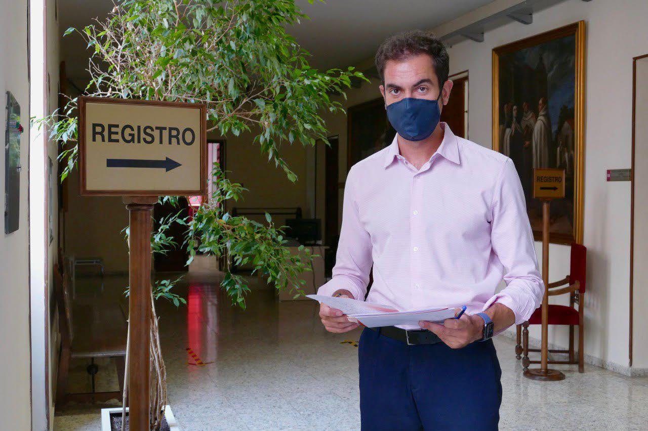 Comendador pregunta por las medidas anti COVID-19 que se están tomando para evitar nuevos errores de gestión en la RSA San José de la Diputación