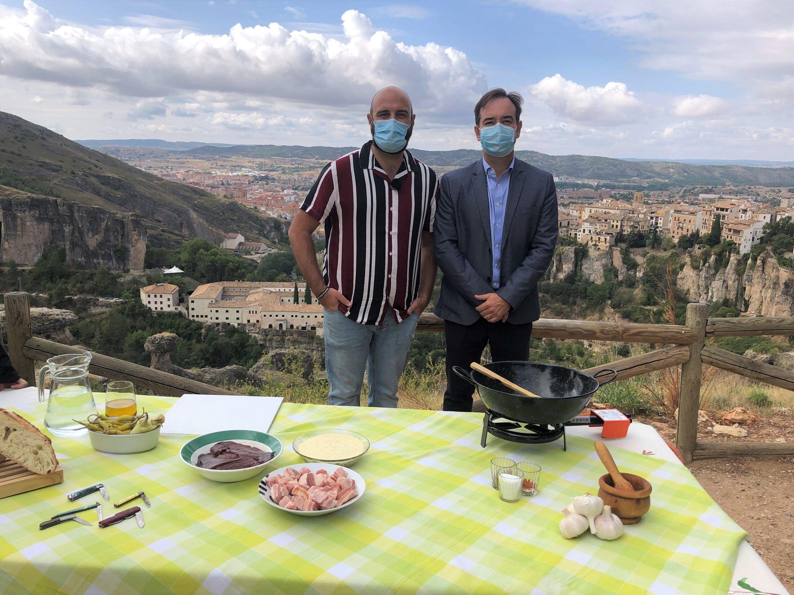 El Casco Antiguo de Cuenca, escenario del programa de gastronomía 'Como Sapiens' de TVE