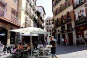 El FMI prevé que la economía española caiga un 12,8% en 2020 y crezca un 7,2% en 2021