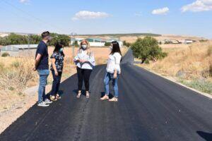 El Gobierno regional ha realizado obras de mejora en el vial de circunvalación de Belmonte