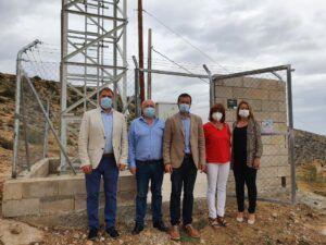 El Gobierno de Castilla-La Mancha invierte 3,4 millones en el despliegue de tecnología 4G en la Comarca de la Sierra del Segura