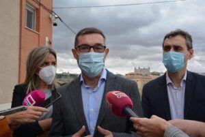 La Diputación de Toledo colabora en el reparto de 70.000 mascarillas que el Gobierno de españa entrega a los pueblos de la provincia
