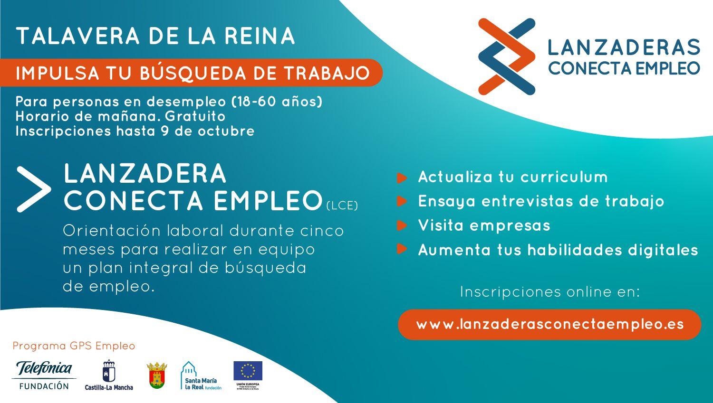 El Ayuntamiento y la Junta de Comunidades impulsan una segunda Lanzadera Conecta Empleo para Talavera que arrancará en octubre