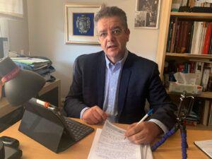 """Moreno: """"Aquellas propuestas de Paco Núñez que el PSOE calificó como ocurrencias hoy las hacen suyas y las quieren poner en marcha con rango de ley"""""""