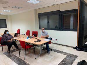 Educación y Servicios Sociales continúan las reuniones con los centros educativos del municipio
