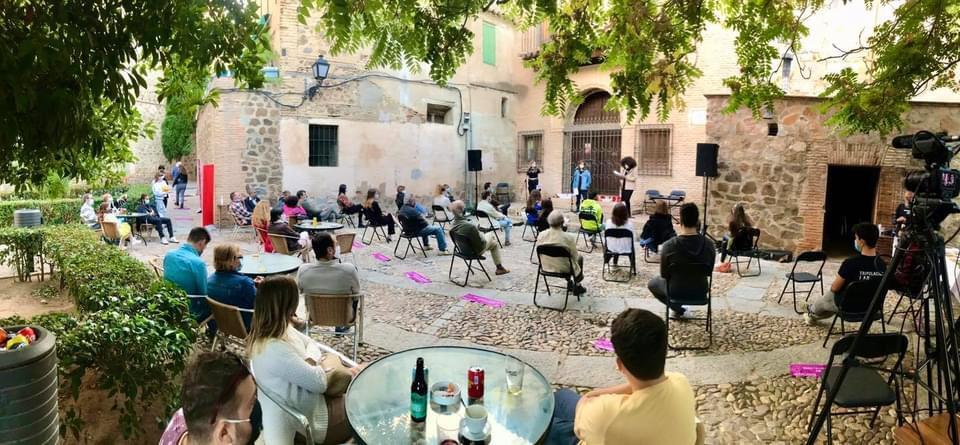 """El Gobierno local celebra que To(le)do es Poesía haya """"recuperado la ciudad para la cultura y el arte"""" después de meses muy duros"""