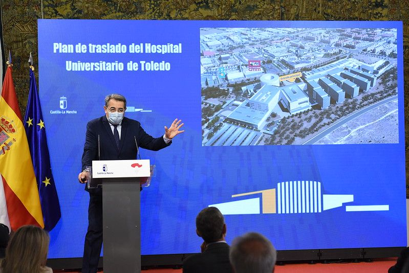 El Plan de Traslado al nuevo Hospital Universitario de Toledo arrancará el 16 de noviembre y se prolongará hasta principios de junio