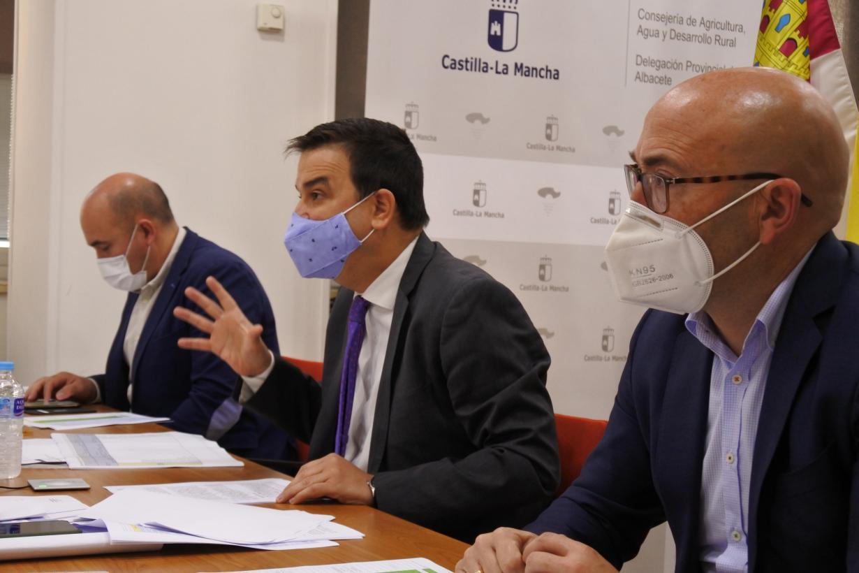 """El Gobierno regional destaca el importante avance en el documento común para defender los intereses de los ciudadanos en materia de agua en un """"proyecto colectivo"""""""