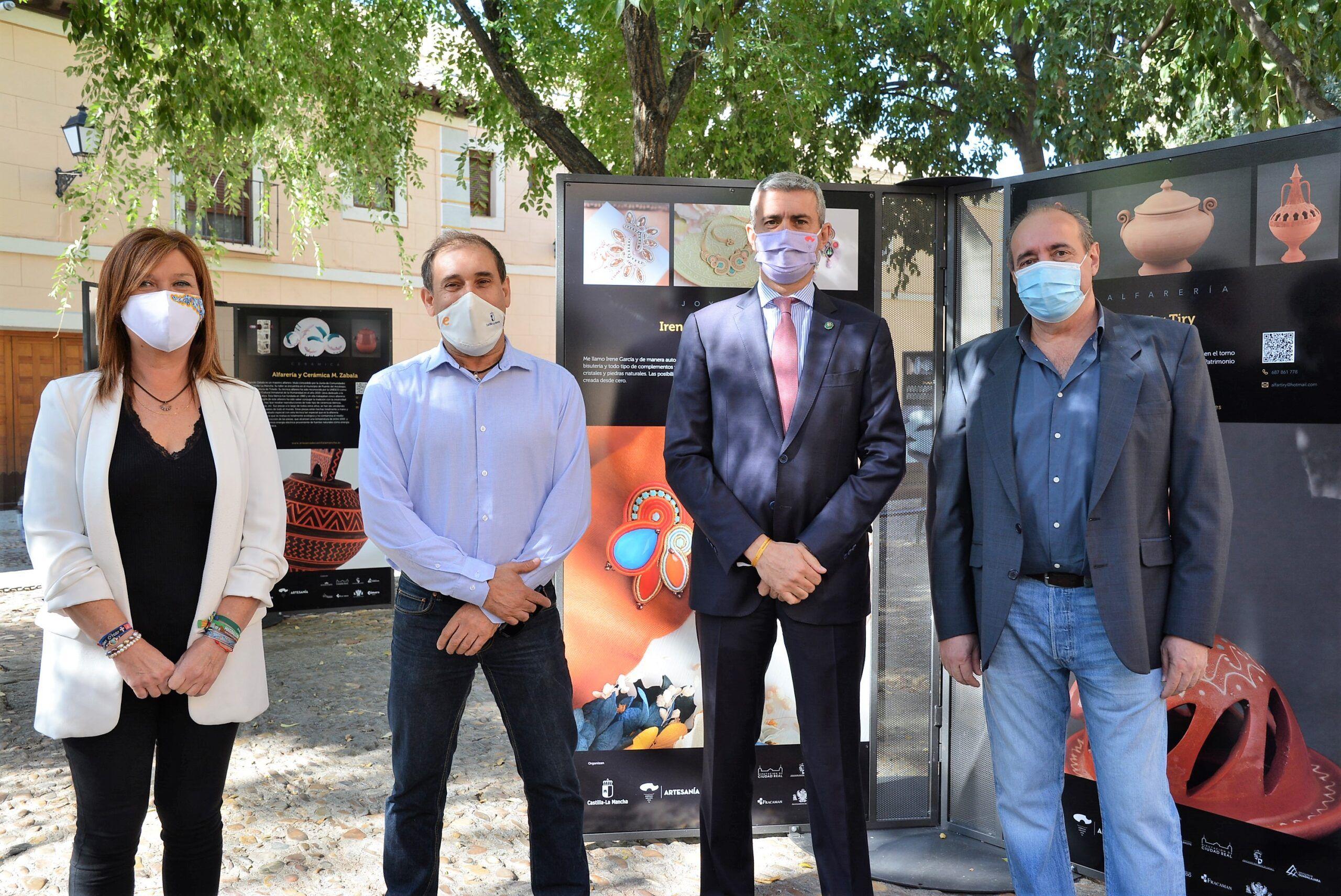 La Diputación apoya a los ceramistas de Puente del Arzobispo en sus iniciativas de salvaguarda para la cerámica