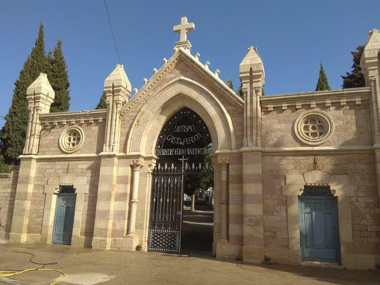 El cementerio amplía su horario y refuerza las medidas de prevención por la festividad de Todos los Santos