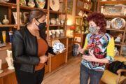 La alcaldesa anuncia bonificaciones fiscales para los talleres de cerámica de Talavera como medida prevista para la salvaguarda de los procesos artesanales