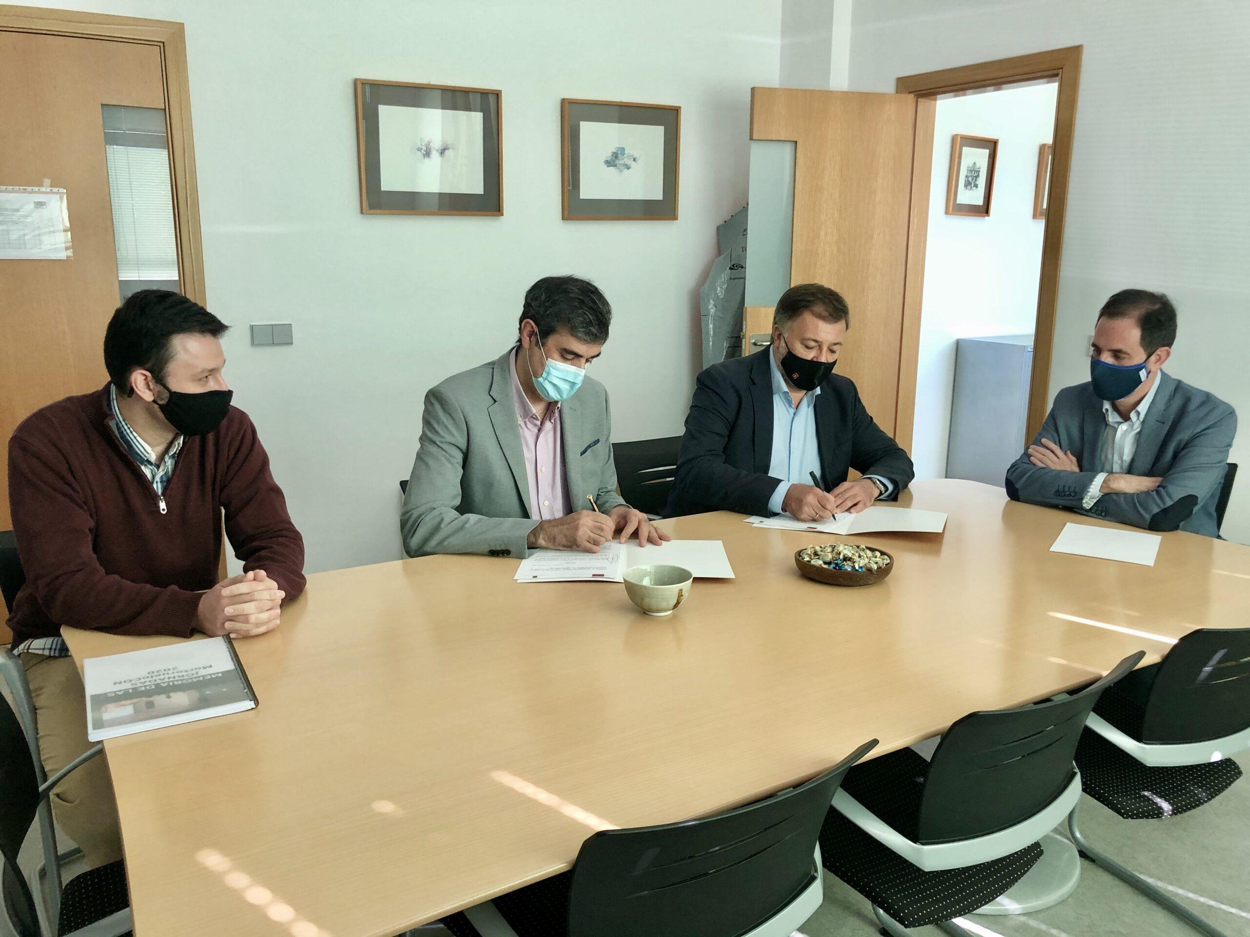 El Ayuntamiento y la Escuela Politécnica firman un acuerdo para la realización de un estudio de ciberseguridad de la web municipal