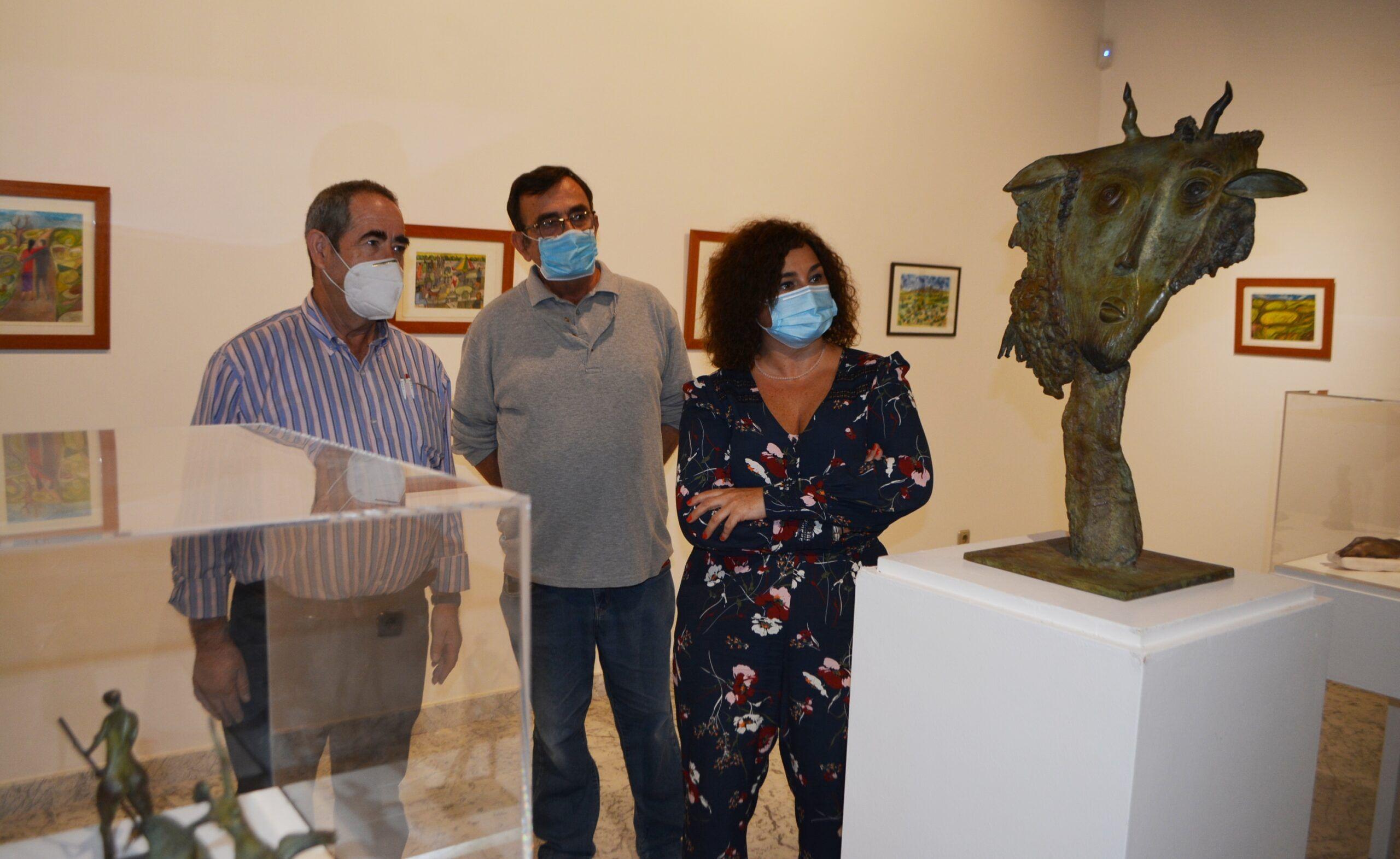El Centro Cultural San Clemente presenta una retrospectiva de las obras de Jorge Lencero y José Luis López Romeral