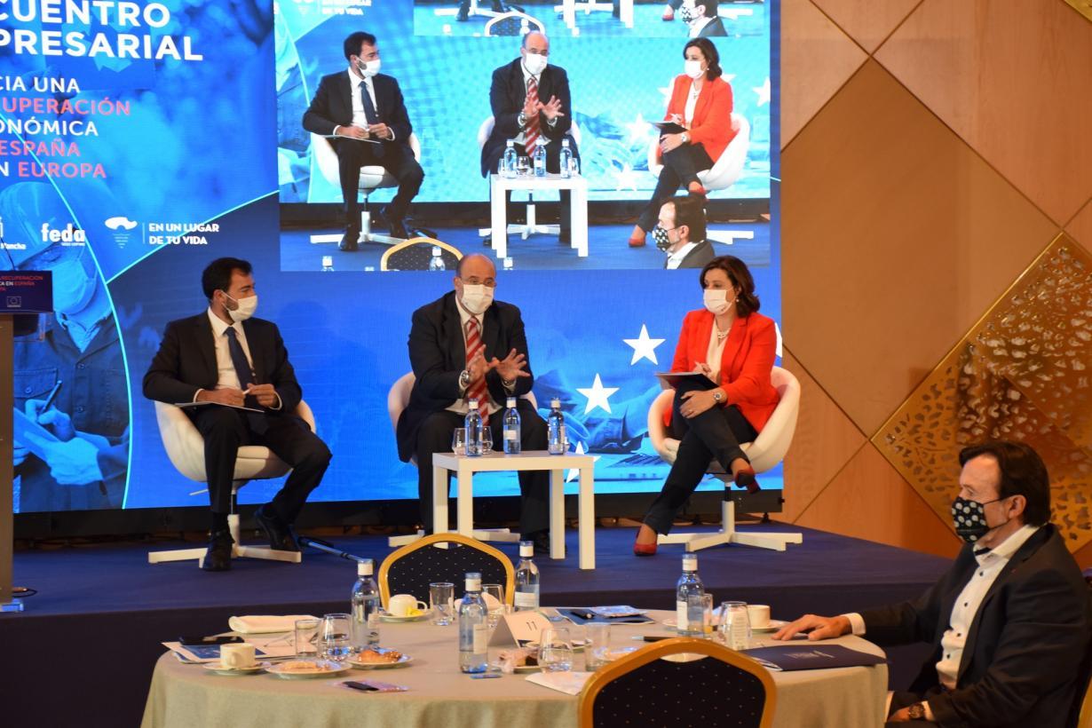El Gobierno regional ofrece acompañamiento al tejido empresarial para obtener financiación de los fondos de recuperación europeos